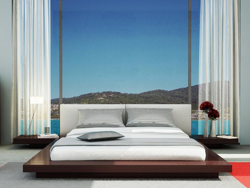 tokyo platform bed set - Platform Bedroom Sets