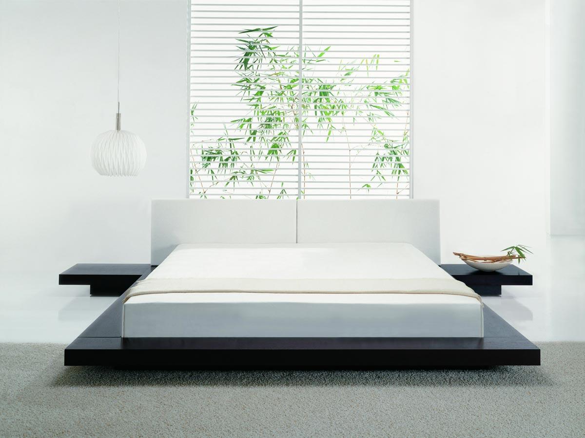 Nightstands for platform beds -  Tokyo Platform Bed 2 Nightstands Hb39a X X