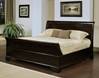 4 Pc Cooper Sleigh Bed Set
