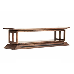 Kondo Teak Bed End / Footer
