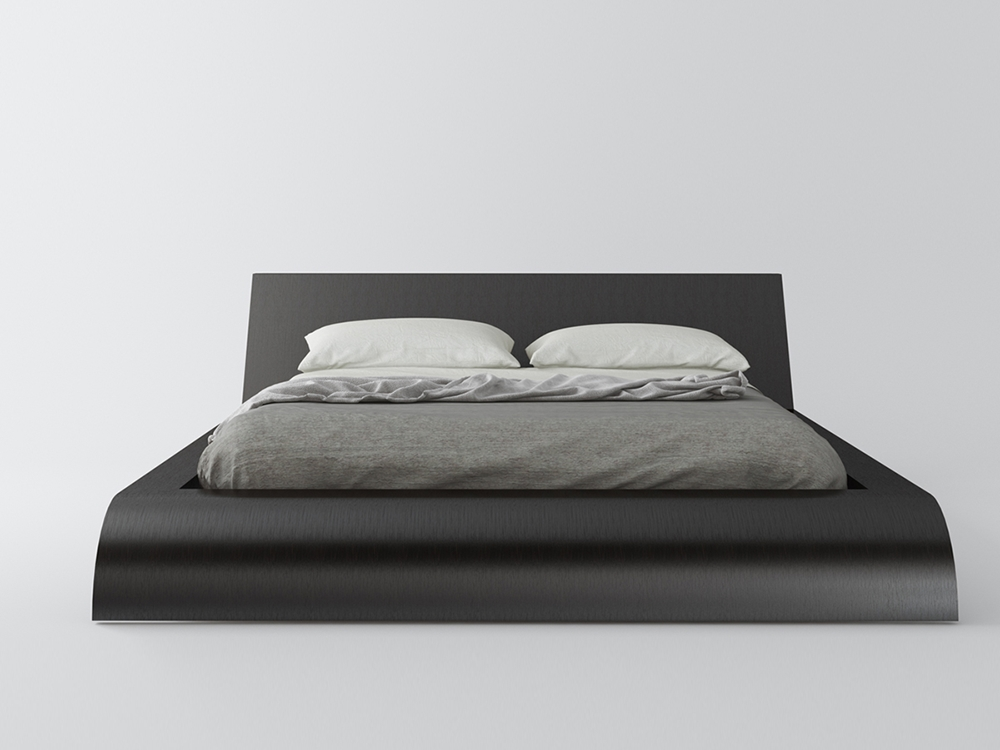 Wave Platform Bed