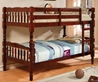 Catalina Twin/Twin Bunk Bed - Cherry CM-BK606CH - CM-BK606CH