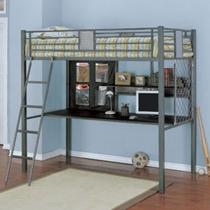 Mammoth Twin Loft Bunk Bed