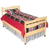 Organic Twin Platform Bed Your little one will feel right at home with the Organic Twin Bed.