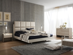 Theron Leather Platform Bed Luxury and elegance is put into a beautiful package with the Theron Platform Bed.