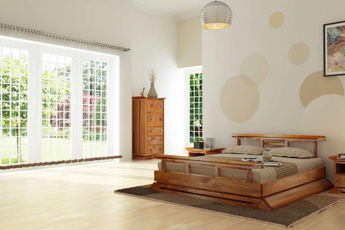 Japanese platform beds for sale -  Kondo Japanese Platform Bed Set Pbo310