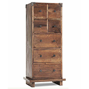 Kobe Tower Dresser balinese tower dresser, platform bed set, Kobe Tower Dresser