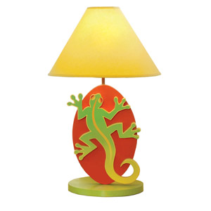 Leaping Lizards Lamp Indulge the animal lover in your kid with our Leaping Lizards Lamp