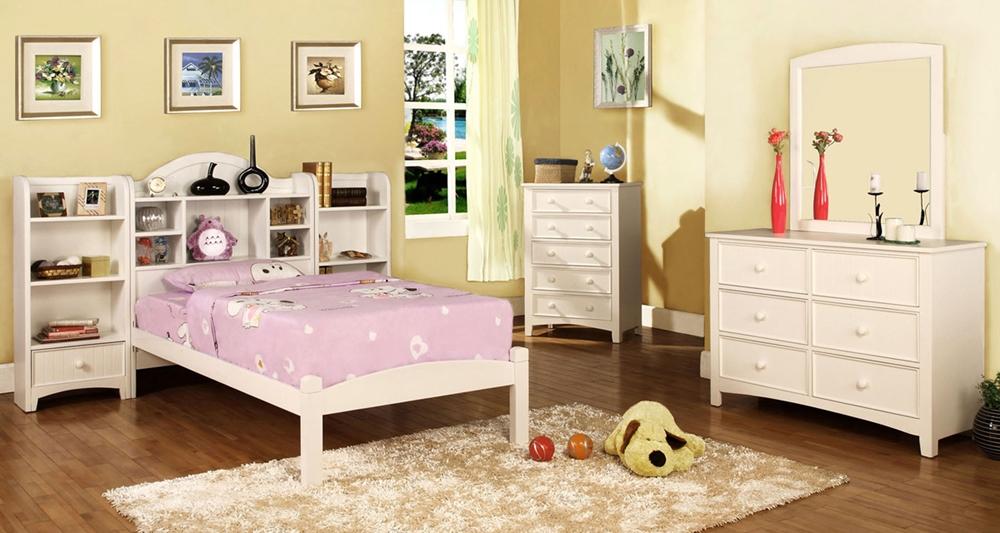 Mayberry Girls Storage Platform Bed