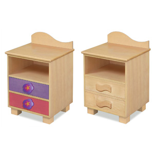 Mystic Garden Nightstand Your little girl with feel the warmth of nature in no time with the Mystic Garden Nightstand.