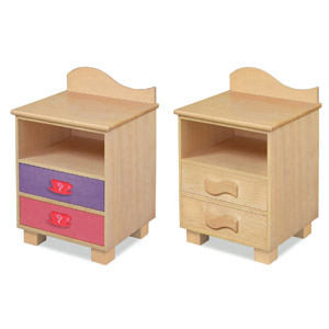 Tea Party Nightstand Your little girl will have the best tea party with the Tea Party Nightstand