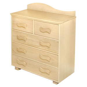 Organic Dresser Your little one will feel right at home with the Organic Dresser.