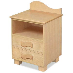 Organic Nightstand Your little one will feel right at home with the Organic Nightstand
