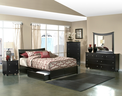 Knightley Bedroom Set Mattress Included