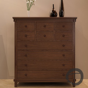 Tropical 10-Drawer Dresser